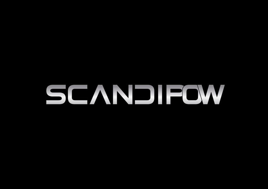 Contest Entry #                                        29                                      for                                         Simple and neat logo needed for ScandiPow (Title only so no extra graphics needed)