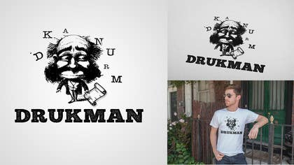 #19 for Ontwerp een Logo for a new company in screenprinting DRUKMAN af picitimici