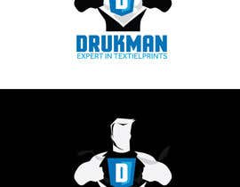 #22 cho Ontwerp een Logo for a new company in screenprinting DRUKMAN bởi Redbrock
