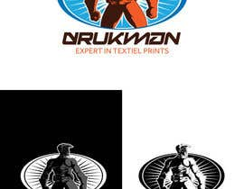 Redbrock tarafından Ontwerp een Logo for a new company in screenprinting DRUKMAN için no 24