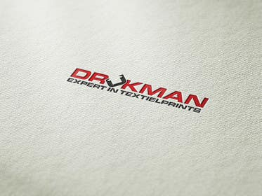 #37 for Ontwerp een Logo for a new company in screenprinting DRUKMAN af affineer