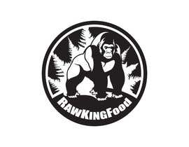 nº 139 pour RawKing Foods Gorilla Design par chong8585