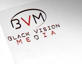 #23 para Design a Logo for Black Vision Media por infosouhayl