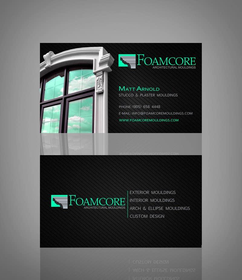 Bài tham dự cuộc thi #18 cho Foamcore Mouldings Card Design