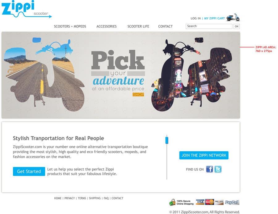 Konkurrenceindlæg #                                        55                                      for                                         ZippiScooter.com Ad Campaign