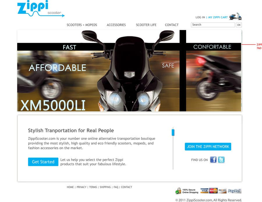 Konkurrenceindlæg #                                        16                                      for                                         ZippiScooter.com Ad Campaign