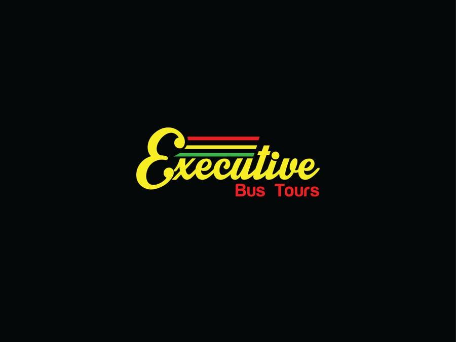Konkurrenceindlæg #                                        45                                      for                                         Design a Logo for Executive Bus Tours