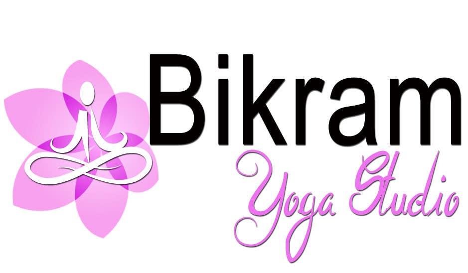 Penyertaan Peraduan #40 untuk Bikram Yoga Mendon Logo design