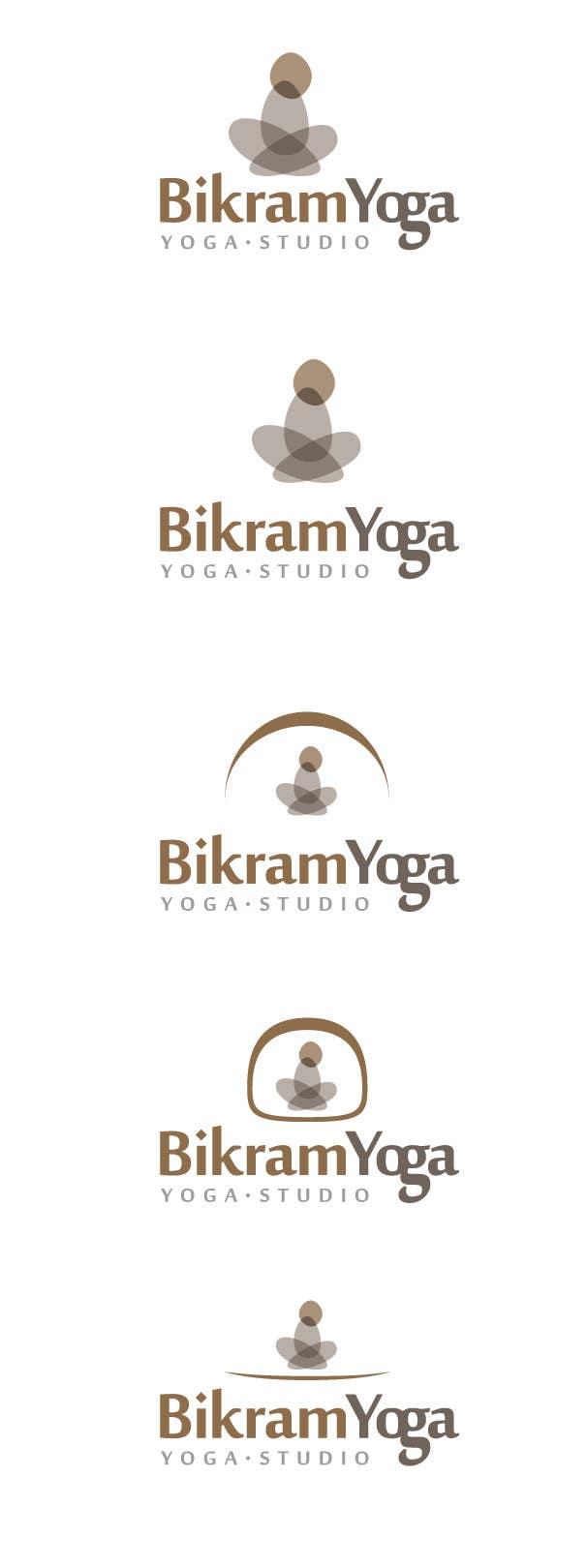 Penyertaan Peraduan #17 untuk Bikram Yoga Mendon Logo design