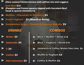 #10 cho Design Menu for a two day bodybuilding event bởi baenajesus75