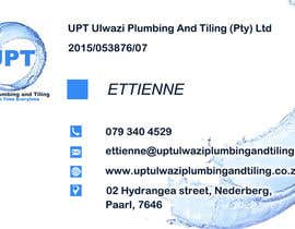 #9 untuk Design a letterhead and business cards for a plumbing and tiling company oleh janikasika