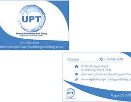 #4 untuk Design a letterhead and business cards for a plumbing and tiling company oleh pugazhenthik