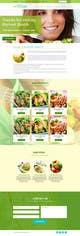 Konkurrenceindlæg #                                                2                                              billede for                                                 Design a Website Mockup for A Health Food Shop