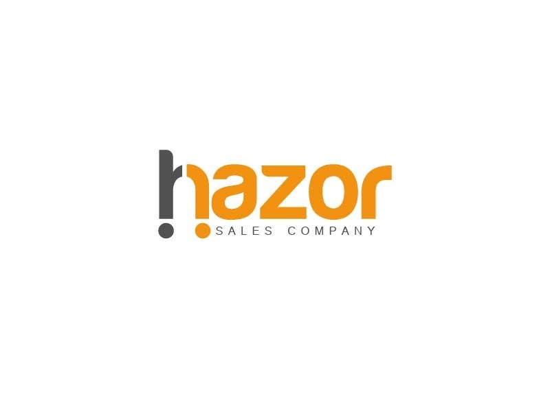 """Inscrição nº 19 do Concurso para Design company Logo """"Hazor"""""""