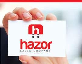"""nº 97 pour Design company Logo """"Hazor"""" par alexandracol"""