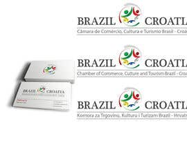 #49 for Logo for Brazil-Croatia Chamber of Commerce by mandaldibyendu