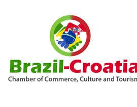 #11 untuk Logo for Brazil-Croatia Chamber of Commerce oleh LucianCreative