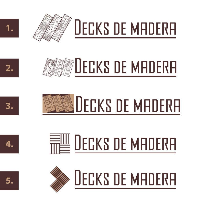 Proposition n°                                        23                                      du concours                                         Design a logo for wood flooring enterprise