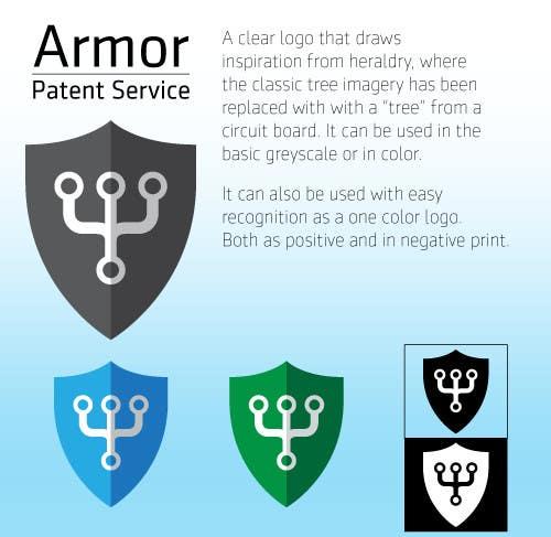 Bài tham dự cuộc thi #11 cho Design a Logo for Armor Patent Services