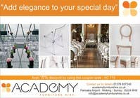 "Graphic Design Konkurrenceindlæg #7 for Wedding Show ""Product & Discount Flyer"" - Academy Furniture Hire"