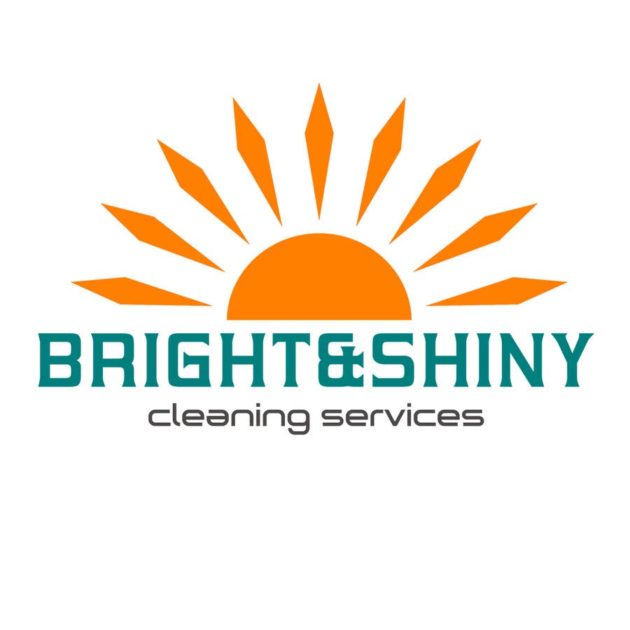 #128 for Design a Simple Logo for Bright & Shiny Cleaning Services by arshidkv12