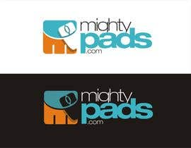 #169 for Design a Logo for MightyPads.com by YONWORKS