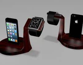 #27 cho Design and Create a 3d iwatch wooden prototype bởi artseba185