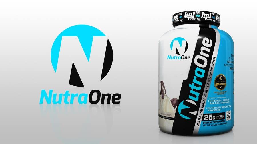 Proposition n°                                        241                                      du concours                                         Design a Logo for NutraOne Supplement Line