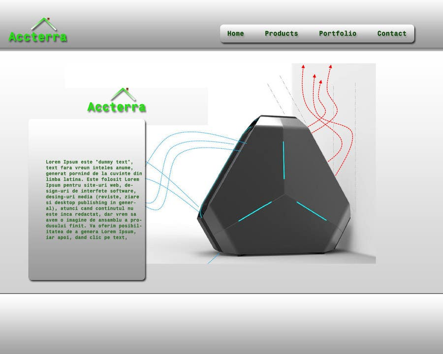 Proposition n°6 du concours Build an ***AMAZING*** website for our company :-)