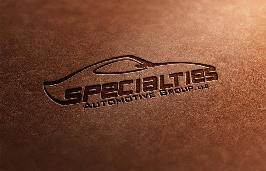 Inscrição nº 31 do Concurso para Design a Logo for Specialties Automotive Group, LLC