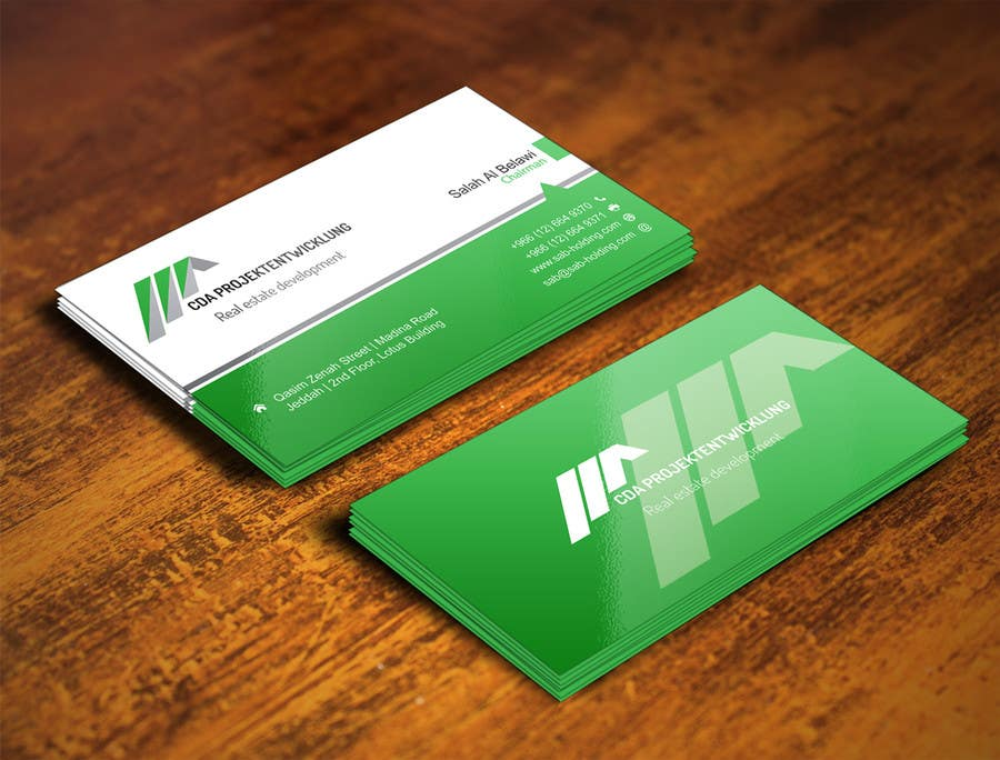 Contest Entry #                                        7                                      for                                         Business Cards and Brochure Design for real estate company