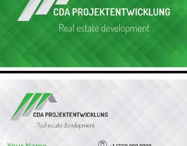 #1 untuk Business Cards and Brochure Design for real estate company oleh KreativeElement