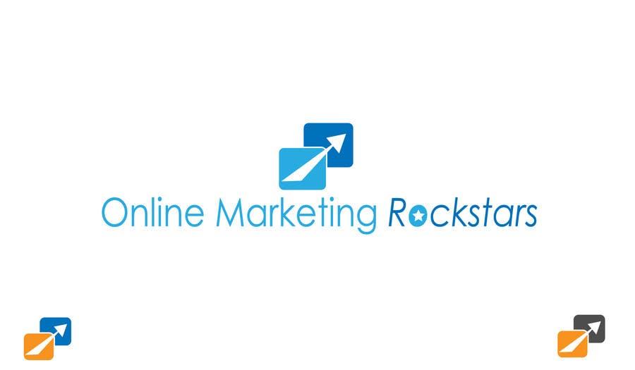 Contest Entry #                                        23                                      for                                         Ontwerp een Logo for Online Marketing Rockstars