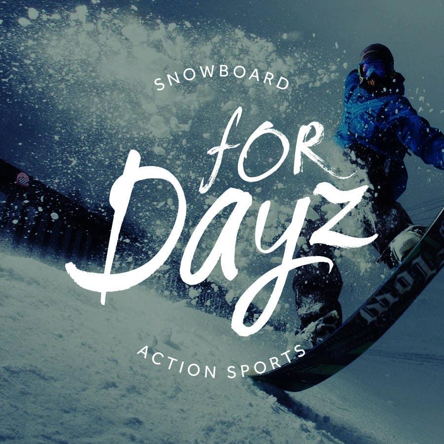 "Konkurrenceindlæg #                                        497                                      for                                         Design a Logo for ""for dayz"" action sports brand"