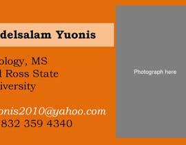 jcoldstream tarafından Student Personal Card için no 2