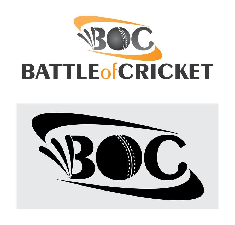 Contest Entry #                                        5                                      for                                         Design a Logo for cricket