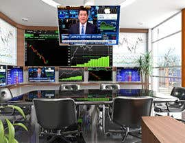 #45 para Design a high tech stock trading room por fernandotv12