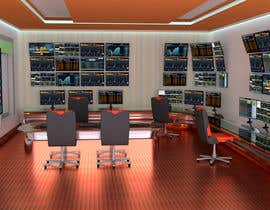 #46 for Design a high tech stock trading room by dhonfaxz