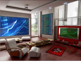 #21 para Design a high tech stock trading room por harshy90