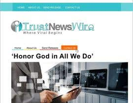 #54 para Design a Logo for i Trust News Wire por arteq04