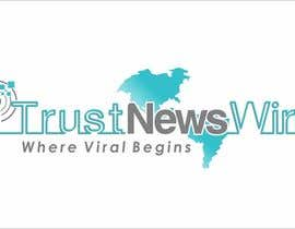 #132 para Design a Logo for i Trust News Wire por arteq04