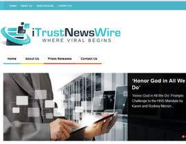 #136 para Design a Logo for i Trust News Wire por Superiots
