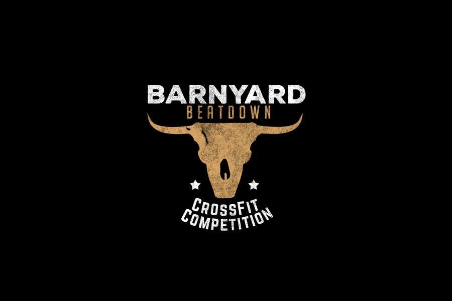 Konkurrenceindlæg #                                        1                                      for                                         Barnyard Beatdown CrossFit Competition Logo