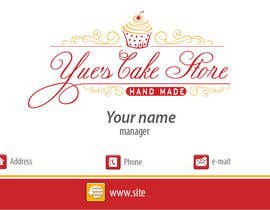 Dada13 tarafından Develop a profile (logo, business card, sticker) for a Cake Store için no 31