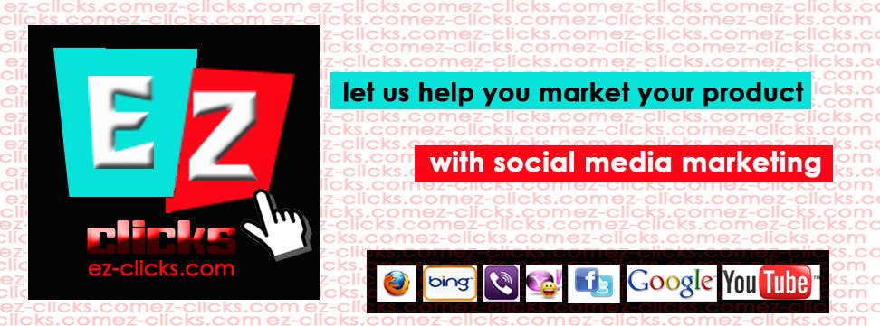 #3 for Design a Cool Banner For Ez-Clicks by Mickhal