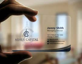 #135 cho Design some Business Cards for Asher Capital bởi imtiazmahmud80