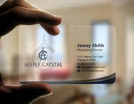 imtiazmahmud80 tarafından Design some Business Cards for Asher Capital için no 135