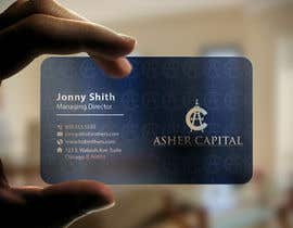 #139 para Design some Business Cards for Asher Capital por imtiazmahmud80