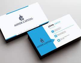 Nahidrahman19 tarafından Design some Business Cards for Asher Capital için no 87