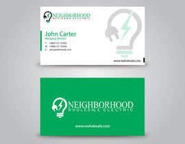#19 cho Design some Business Cards for Neighborhood Wholesale Electric bởi benson92